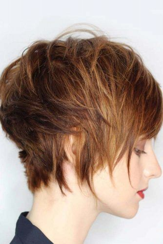 Feathered Messy Pixie #pixiecut #haircuts