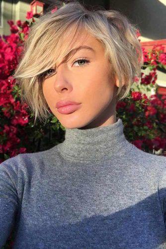 Blonde Layered Pixie Haircut #pixiecut #haircuts