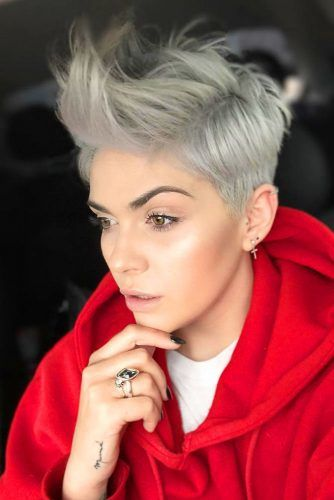 Punky Pixie For Sports Lovers #pixiecut #haircuts