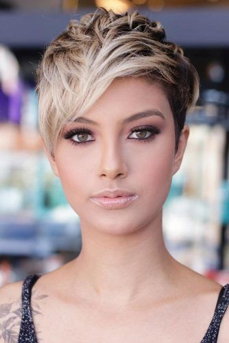 Short Layered Pixie With Undercut #pixiecut #haircuts