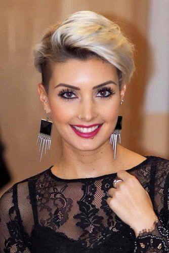 Attractive Pixie For Parties #pixiecut #haircuts