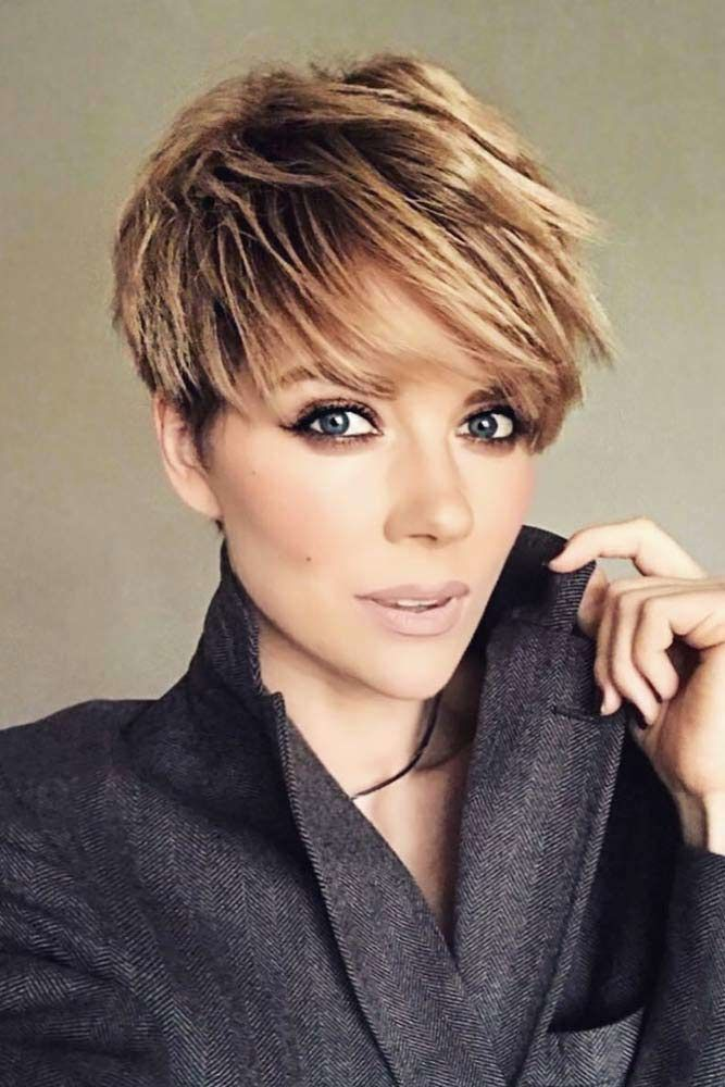 Pixie Cuts For Business Ladies #pixiecut #haircuts