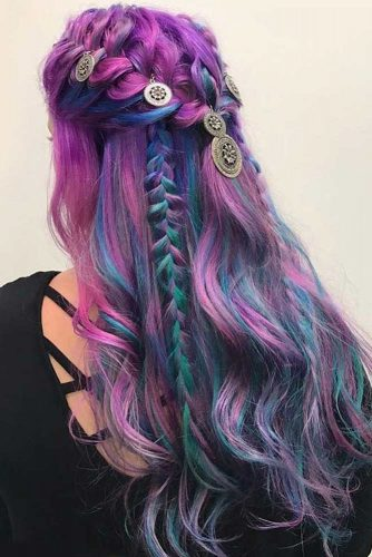 Rainbow Hair with Accessories picture1