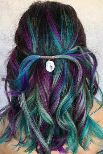 Rainbow Hair with Accessories picture 2