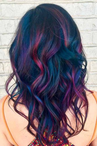 Oil Slick Balayage for Brunettes picture2