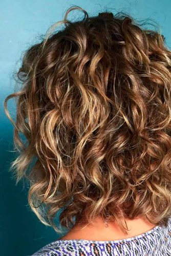 Short Curly Ringlets for Women