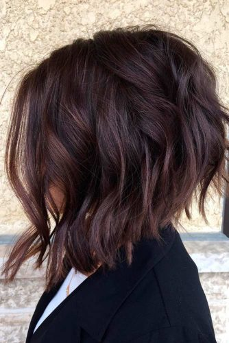 Chin Length Curly Bob for Women