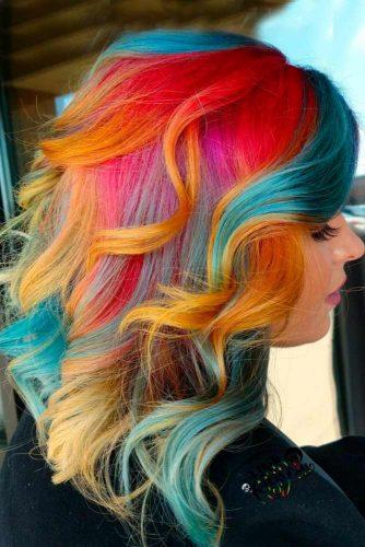 Magician Color Splash on Bob Haircut