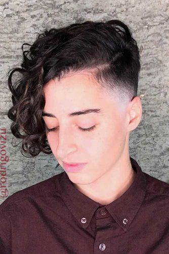 Long Pixie With Undercut #shortcurlyhairstyles #curlyhairstyles #hairstyles