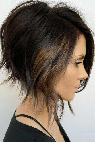 Inverted Bob #haircuts #faceshape