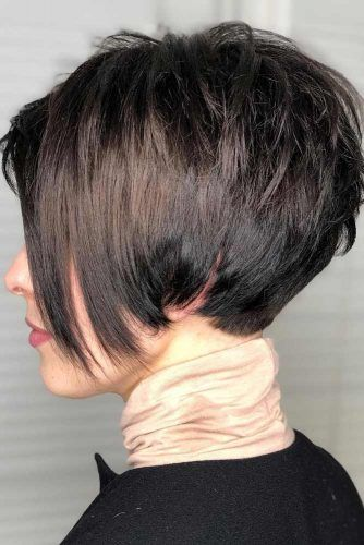 Layered Pixie Hairstyle #haircuts #faceshape