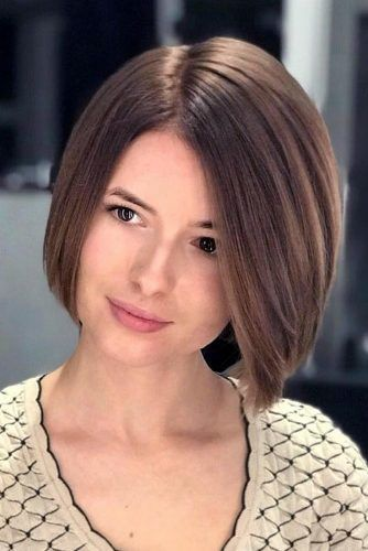 Delicate Face Framing Bob #haircuts #faceshape