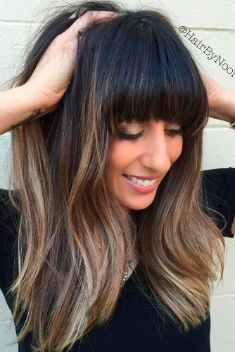 Lovely Hairstyles with Bangs picture 3