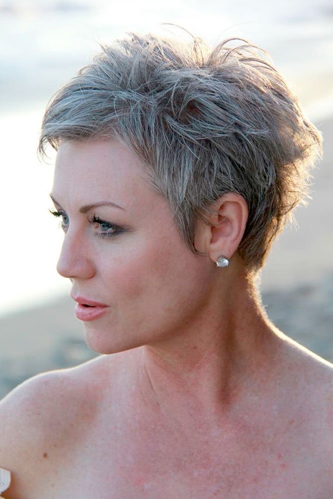 Sassy Pixie Short Hairstyles For Women Over 50