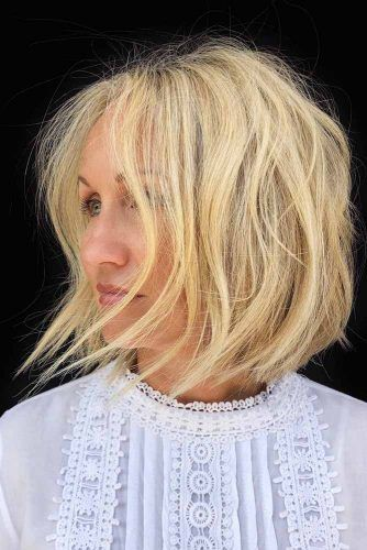 Lovely Blonde Locks #bob