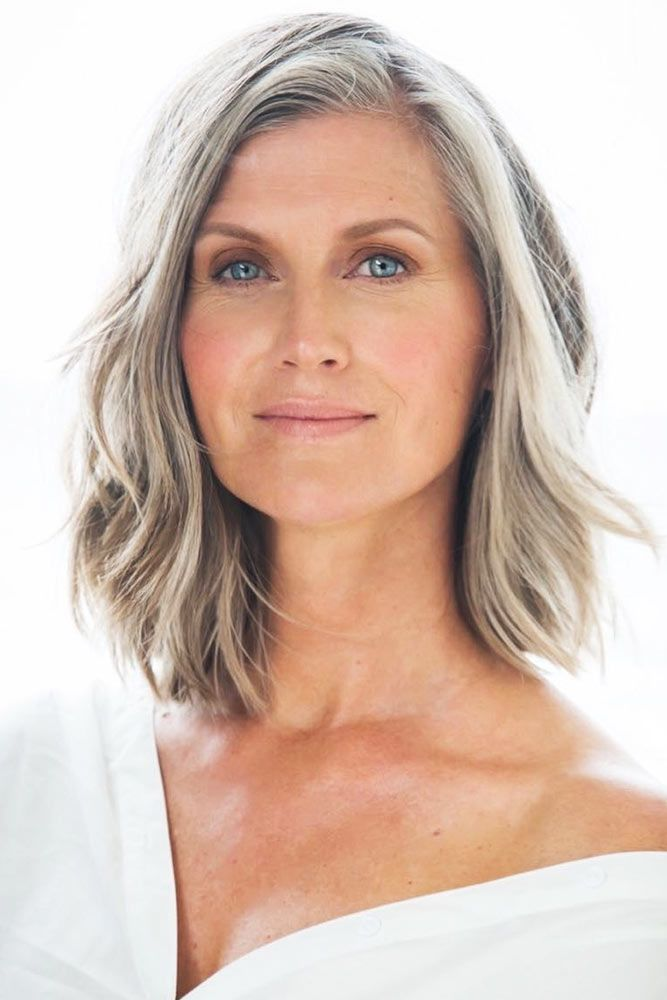 Soft Layers On Medium Bob Short Hairstyles For Women Over 50 #bob #hairstylesforwomenover50