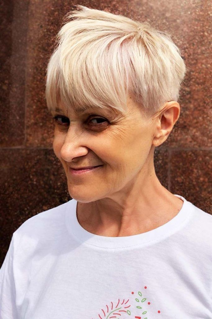 Spiky Pixie Short Hairstyles For Women Over 50 #hairstylesforwomenover50