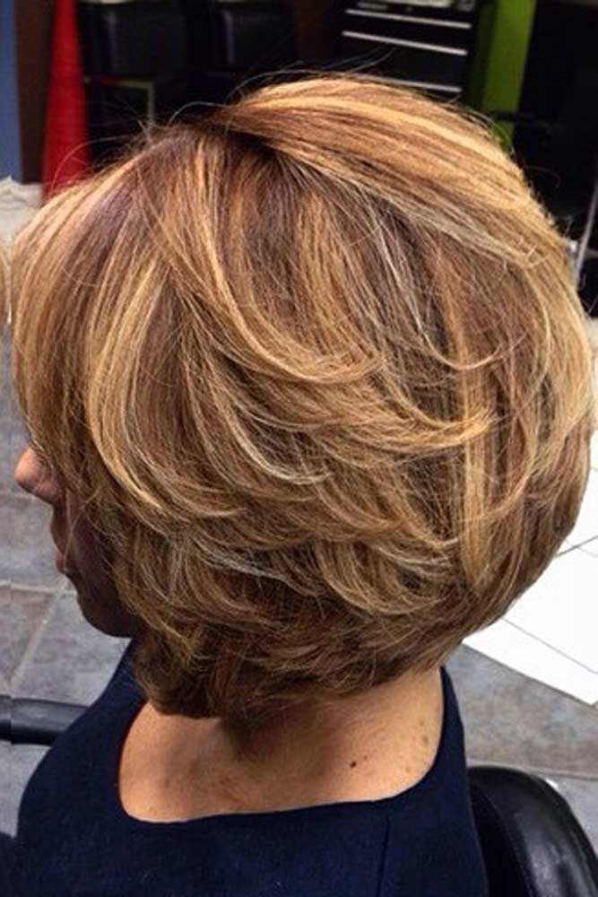 Classic Layered Short Hairstyles For Women Over 50