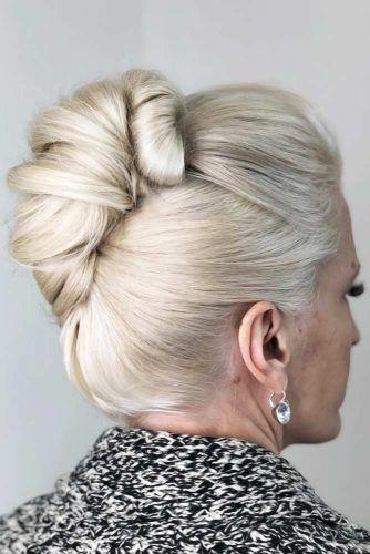 Updo Sleek Twist #hairstylesforwomenover50
