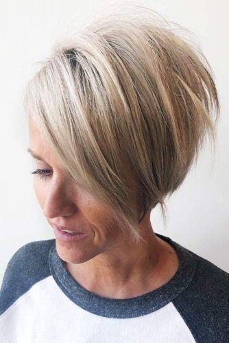 Short, Wispy Haircut For Finer Hair #pixie #layeredhair