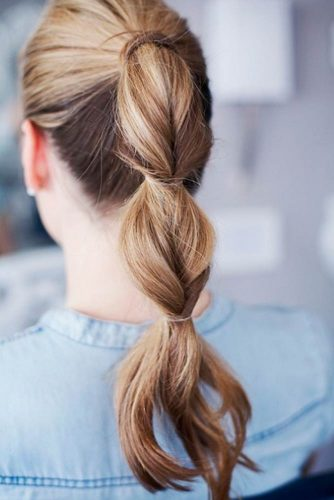Lovely Twisted Ponytail Hairstyles