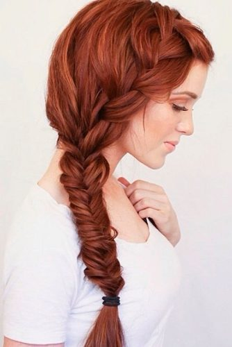 Simple and Fun Side Braid for Long Hair