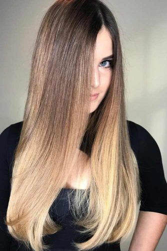 Sexy Straight Hairstyle