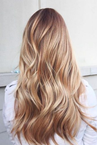 Balayage with Longer Layers