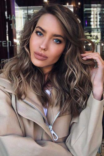 Beach Waves For Long Layered Hair #longlayeredhaircuts #layeredhaircuts #haircuts #longhair