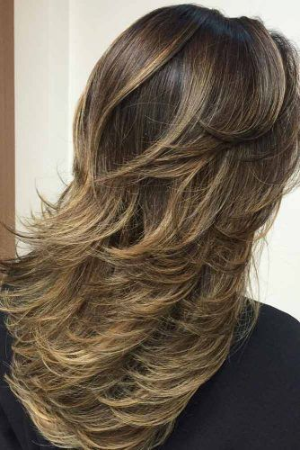 Classy Flipped Out Layers #longlayeredhaircuts #layeredhaircuts #haircuts #longhair