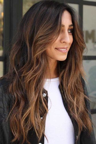 Soft Texture To Live For #longlayeredhaircuts #layeredhaircuts #haircuts #longhair