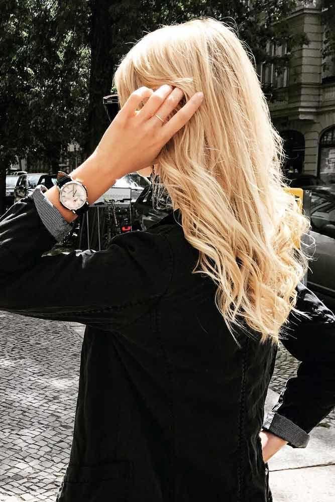 Loose And Wavy Long Haircuts Messy #longhair #layeredhair