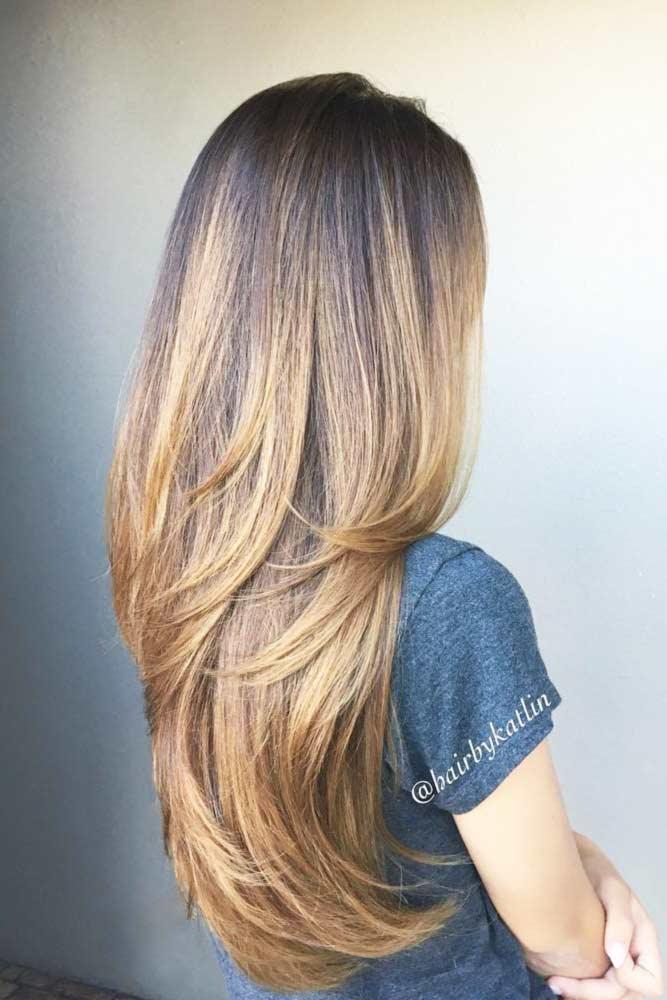 Straight and Chic #longlayeredhaircuts #layeredhaircuts #haircuts #longhair