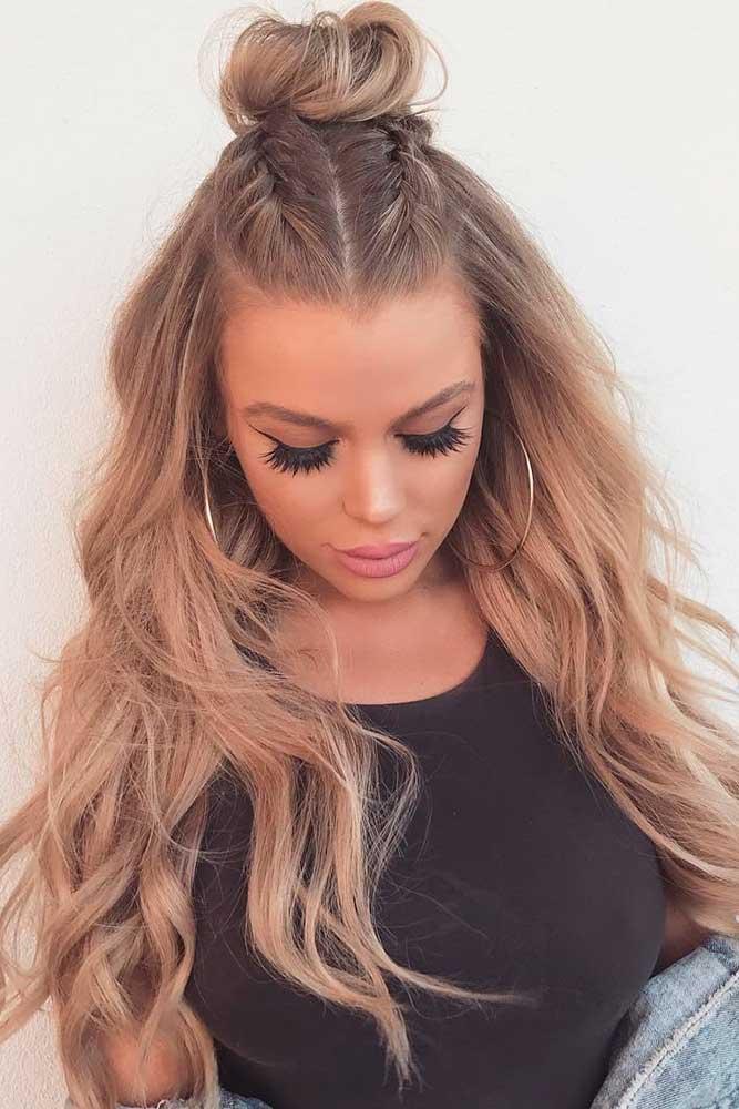 Balayage Wavy Hair