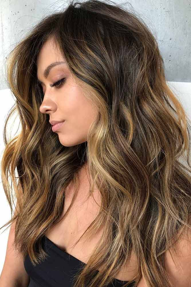 Bouncy Bohemian Waves #hairstylesforroundfaces #hairstyles #faceshapes