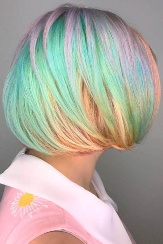 Colorful Cotton Candy Hair picture1