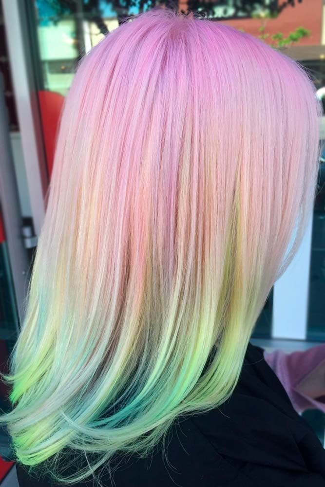 Colorful Cotton Candy Hair picture2