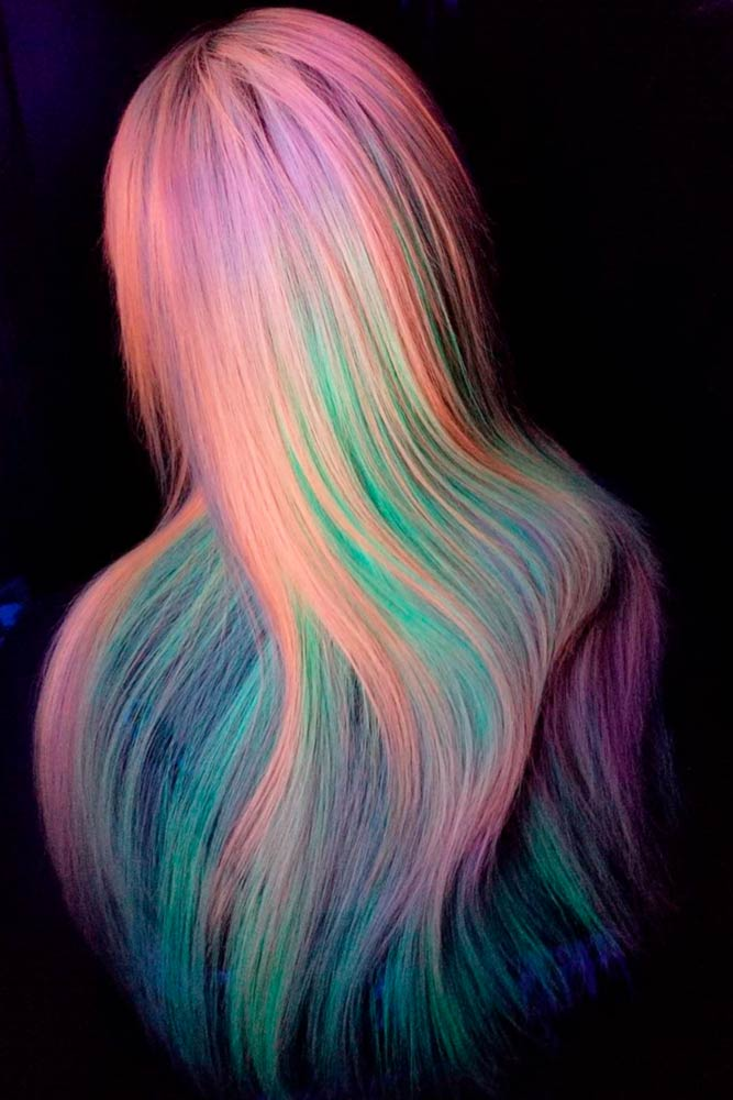 Colorful Cotton Candy Hair picture3