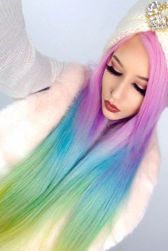 Wonderful Cotton Candy Hair Ideas picture1