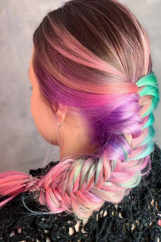 How To Take Care Of Your New Cotton Candy Look #cottoncandyhair