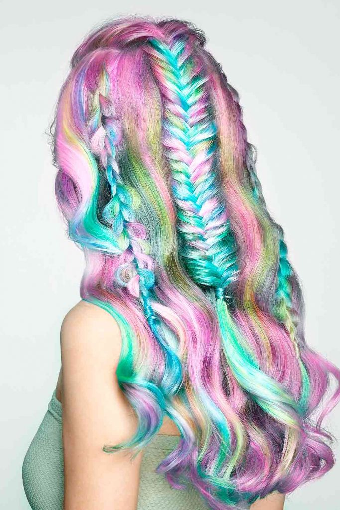 Holographic Cotton Hair