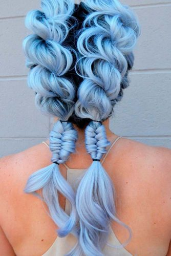 Beautiful Cotton Candy Hair picture3