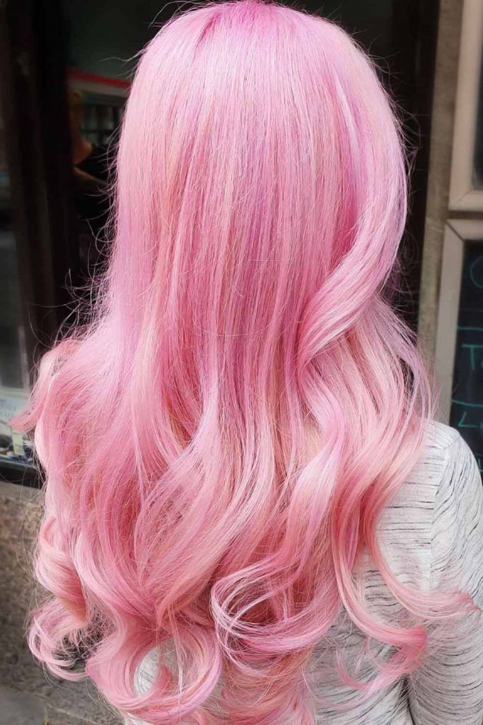 Cotton Candy Hair Long #cottoncandyhair