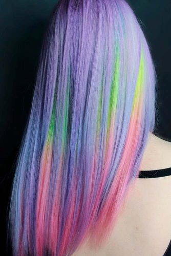 Beautiful Cotton Candy Hair picture1