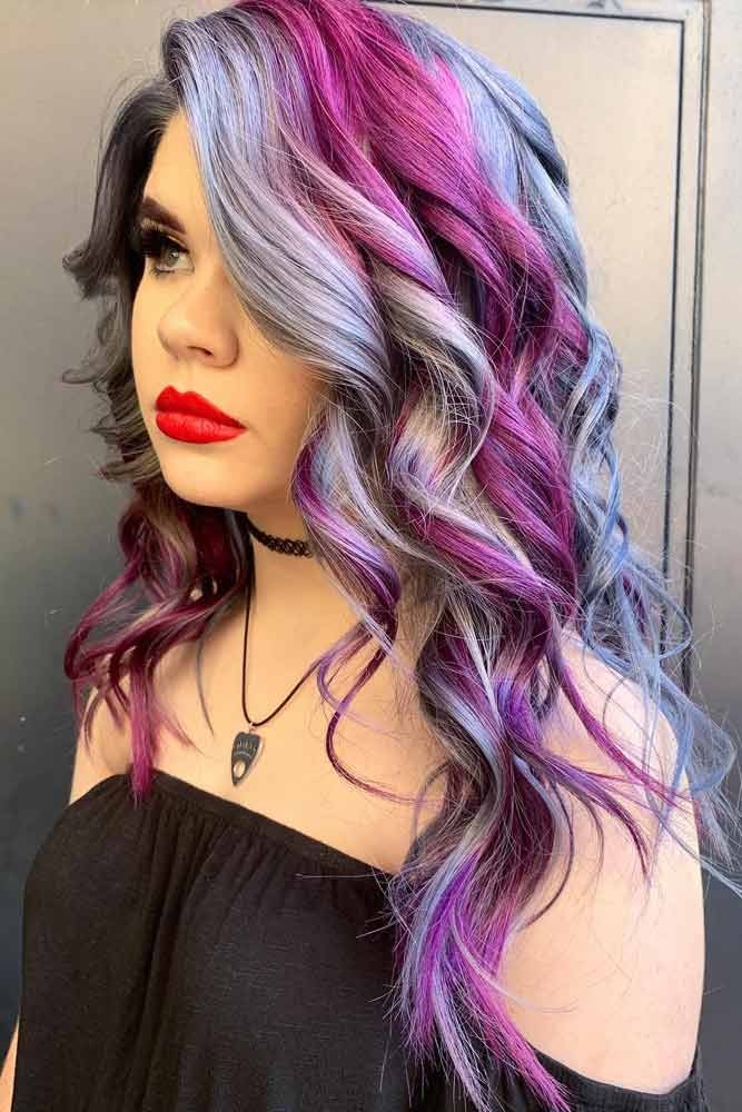 Amazing Cotton Candy Hair #cottoncandyhair #hairstyles