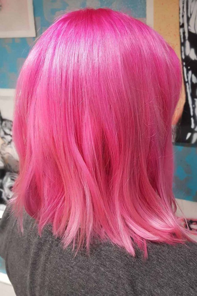 Cotton Candy Hair Medium #cottoncandyhair