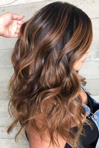 Hairstyle With Natural Volume