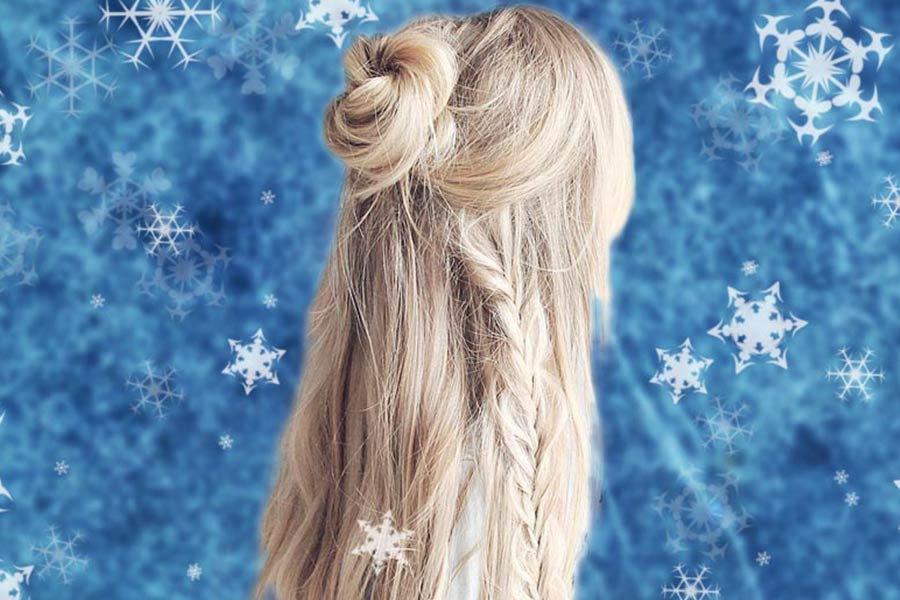 Five-Minute Holiday Easy Hairstyles