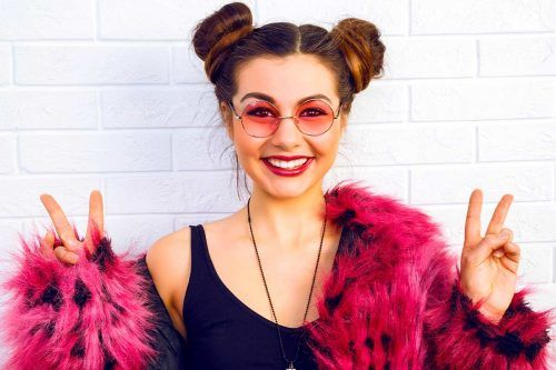 Lovely Top Knot Hairstyles To Try Right Now