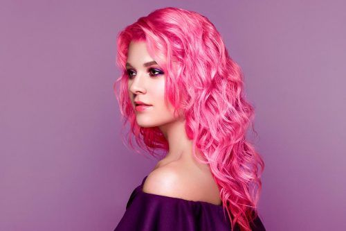 Sweet Cotton Candy Hair Ideas
